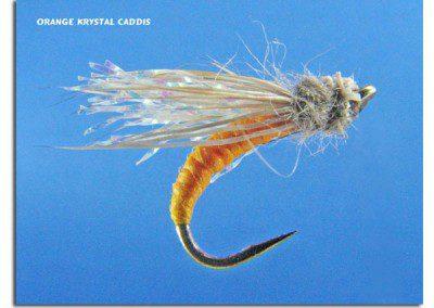 Orange Krystal Caddis