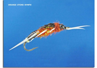 Orange Stone Nymph